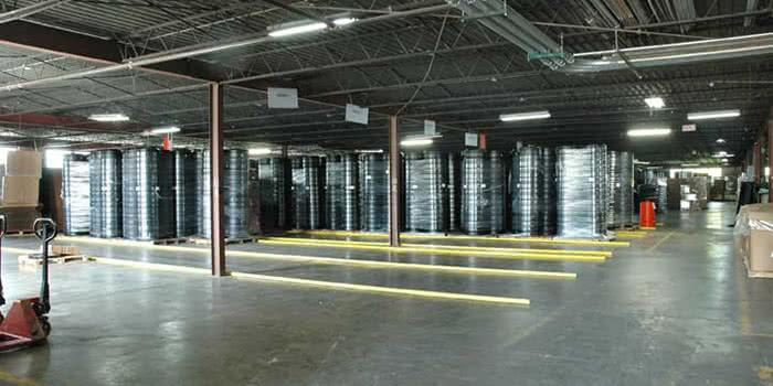 Quality Custom Molding - Warehouse